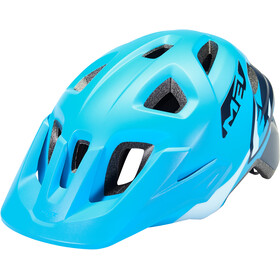MET Eldar Casque Enfant, blue shark matte